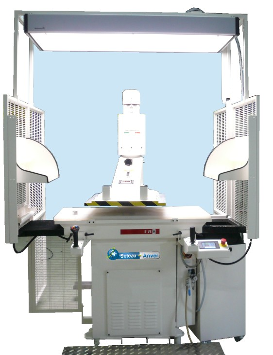 Automatic swing beam cutting press – Model FR