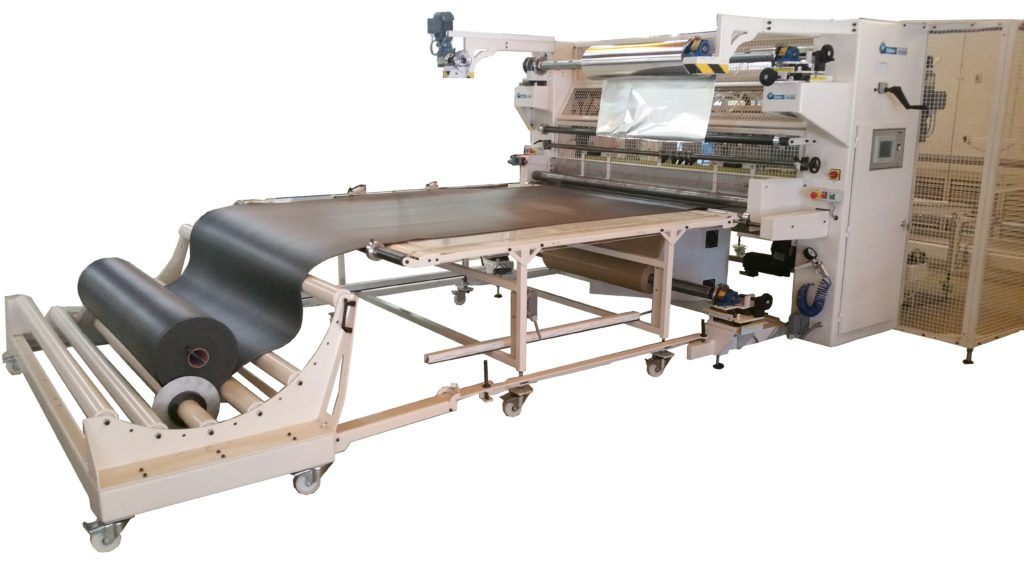 Laminating machine for rolls and sheets