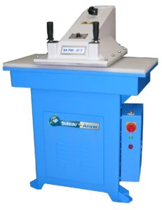 Swing arm cutting press – Model SA F60
